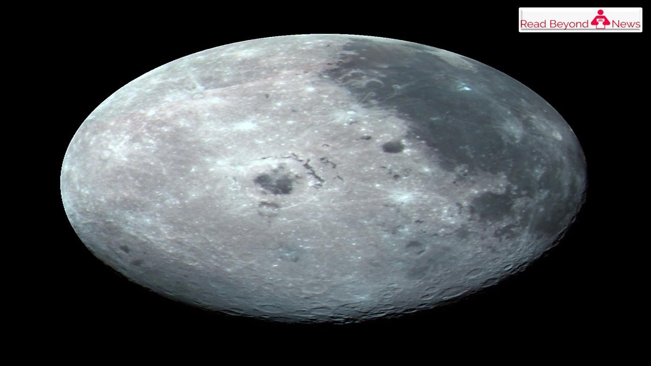Ice on moon