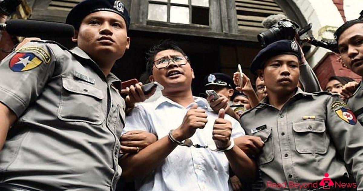Reuters journalists imprisoned