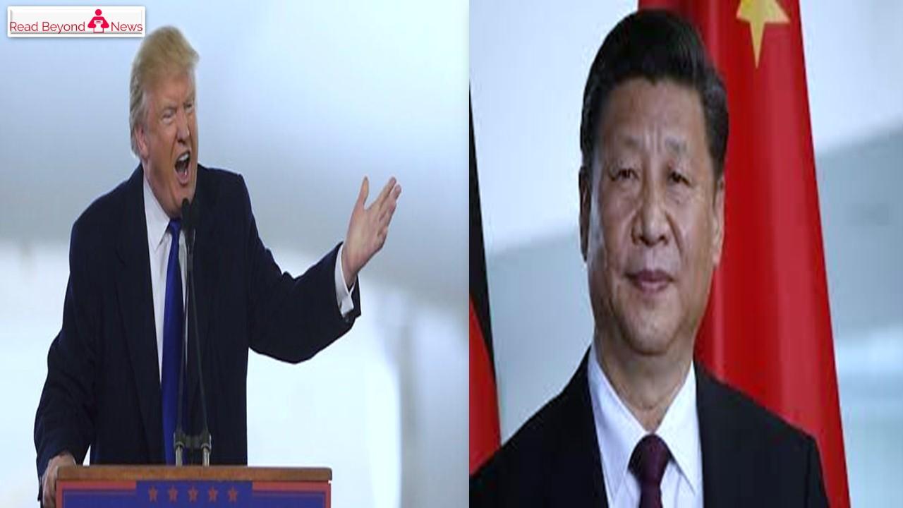 Trump reprimands china